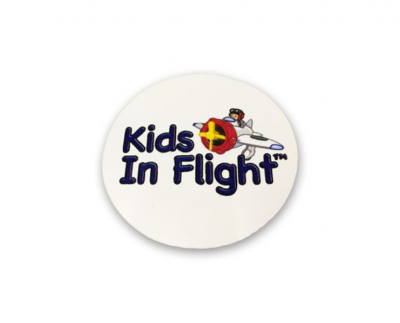 Kids In Flight Stickers