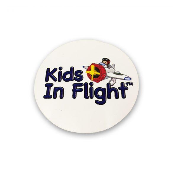 Kids In Flight Stickers