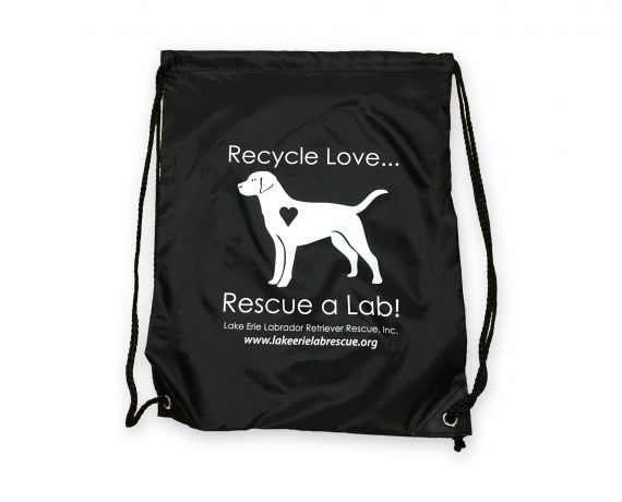 Lab Rescue Cinch Bag