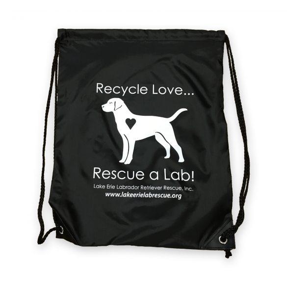 Lab Rescue Cinch Bag