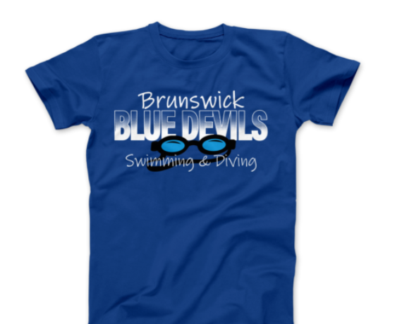 Brunswick Swimming & Diving Spiritwear